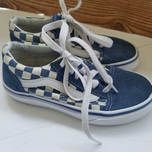Van's Old Skool Blue/White Sneaker Sz 13 Kids